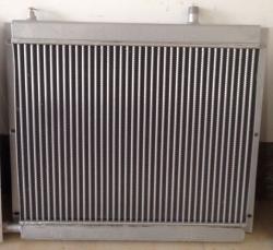 铝制口琴式扁管散热器