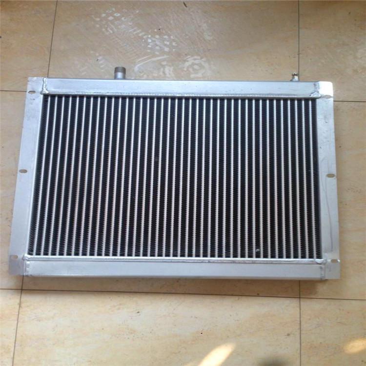 养殖铝制扁口散热器