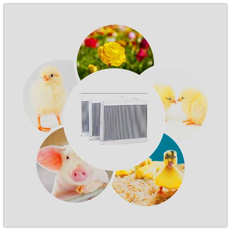 专业养殖铝制口琴式扁口散热器