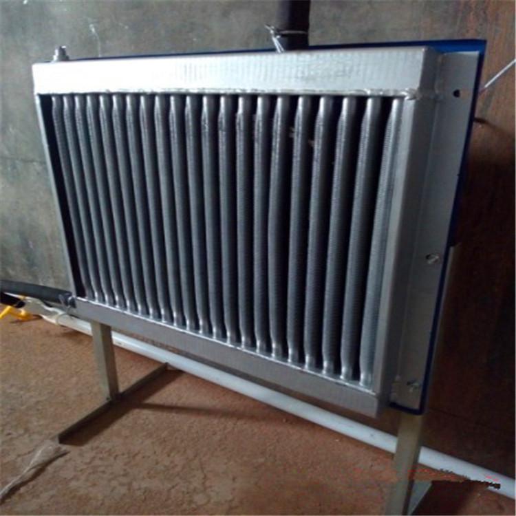 专业养殖铝制翅片式(圆管)散热器