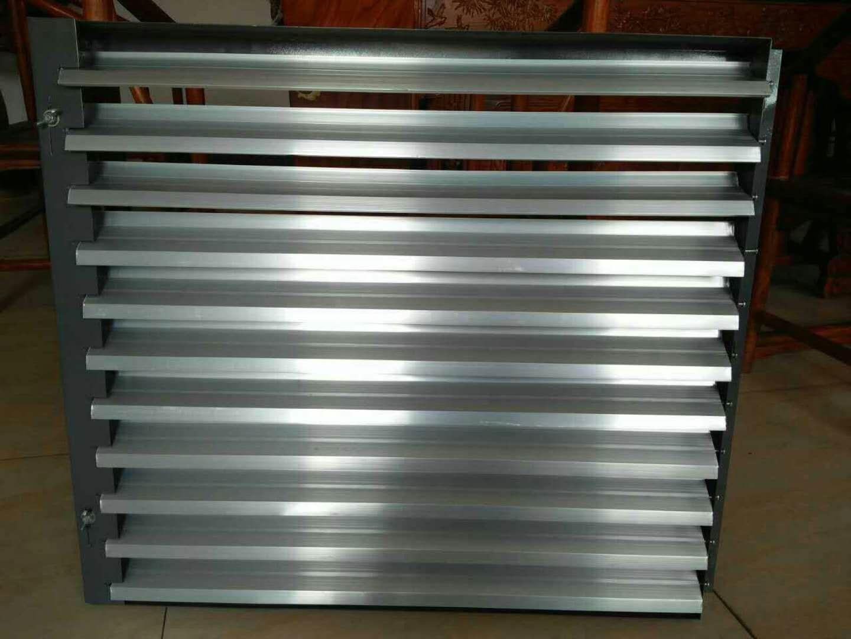 镀锌板养殖散热器定向百叶窗
