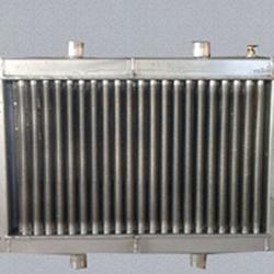 专业定制双进双出型铝制散热器