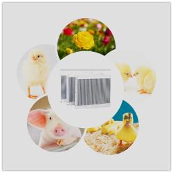 专业养殖铝制口琴式水箱,铝水箱