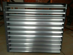 最新镀锌板养殖散热器定向百叶窗